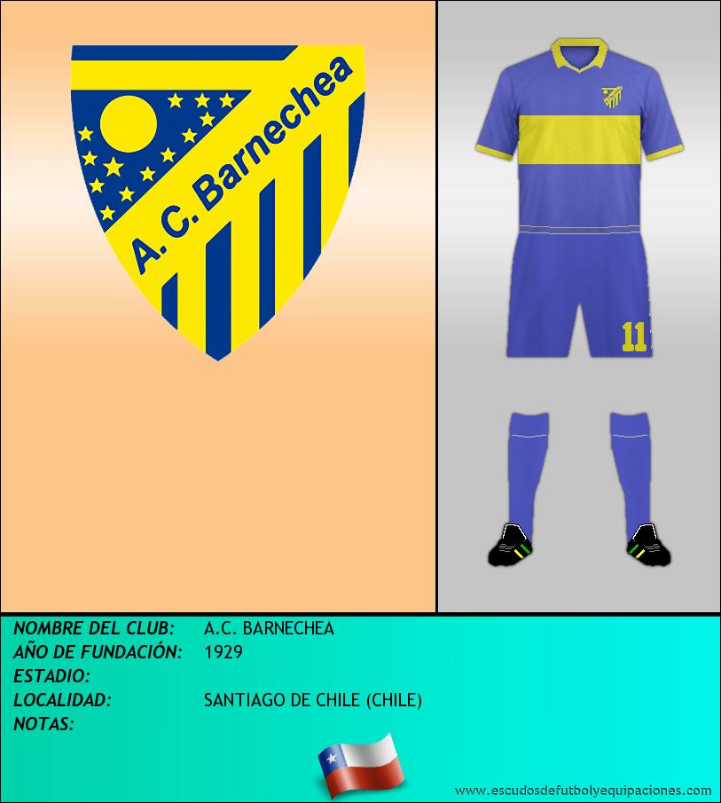 Escudo de A.C. BARNECHEA