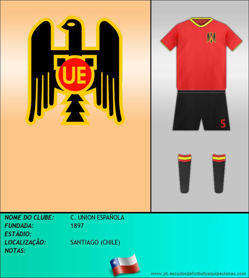 Escudo de C. UNION ESPAÑOLA
