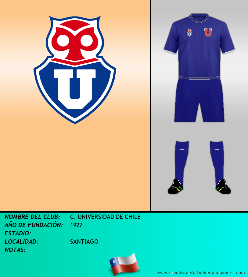 Escudo de C. UNIVERSIDAD DE CHILE