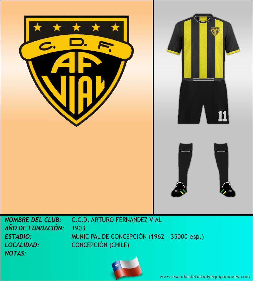 Escudo de C.C.D. ARTURO FERNANDEZ VIAL