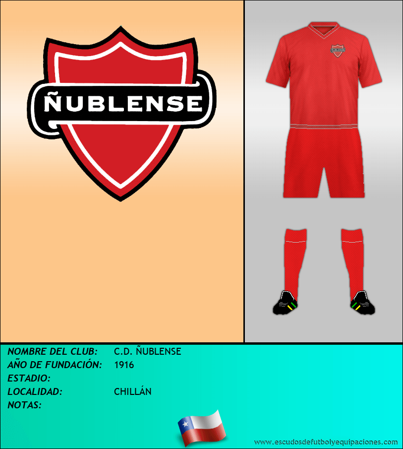 Escudo de C.D. ÑUBLENSE