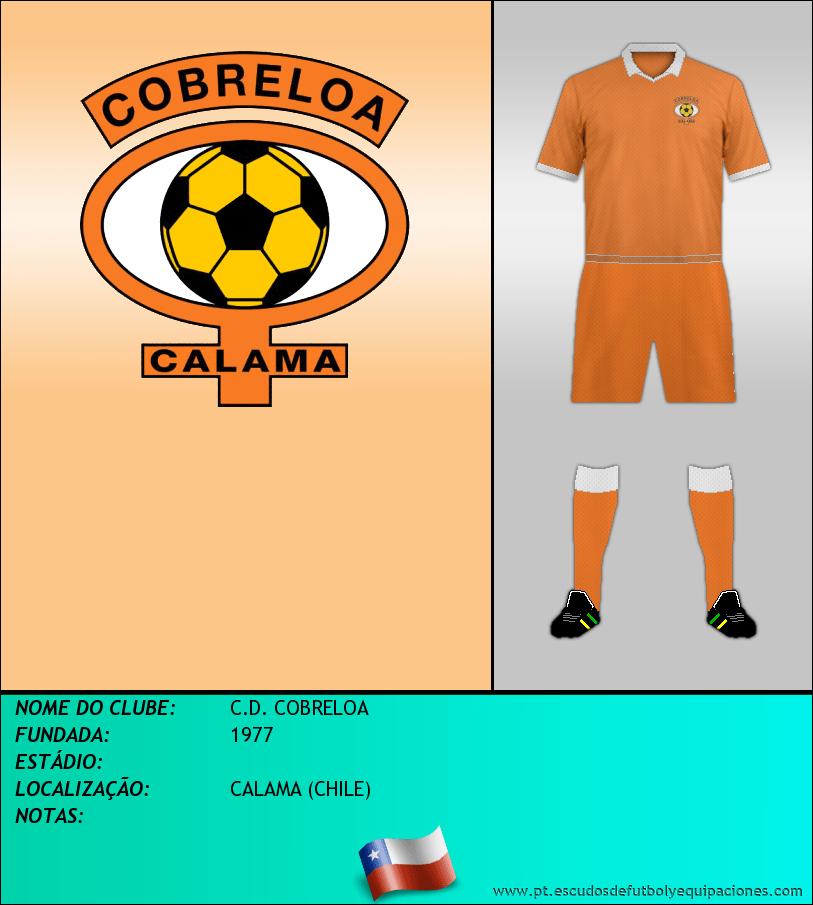 Escudo de C.D. COBRELOA