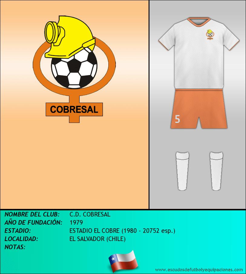 Escudo de C.D. COBRESAL