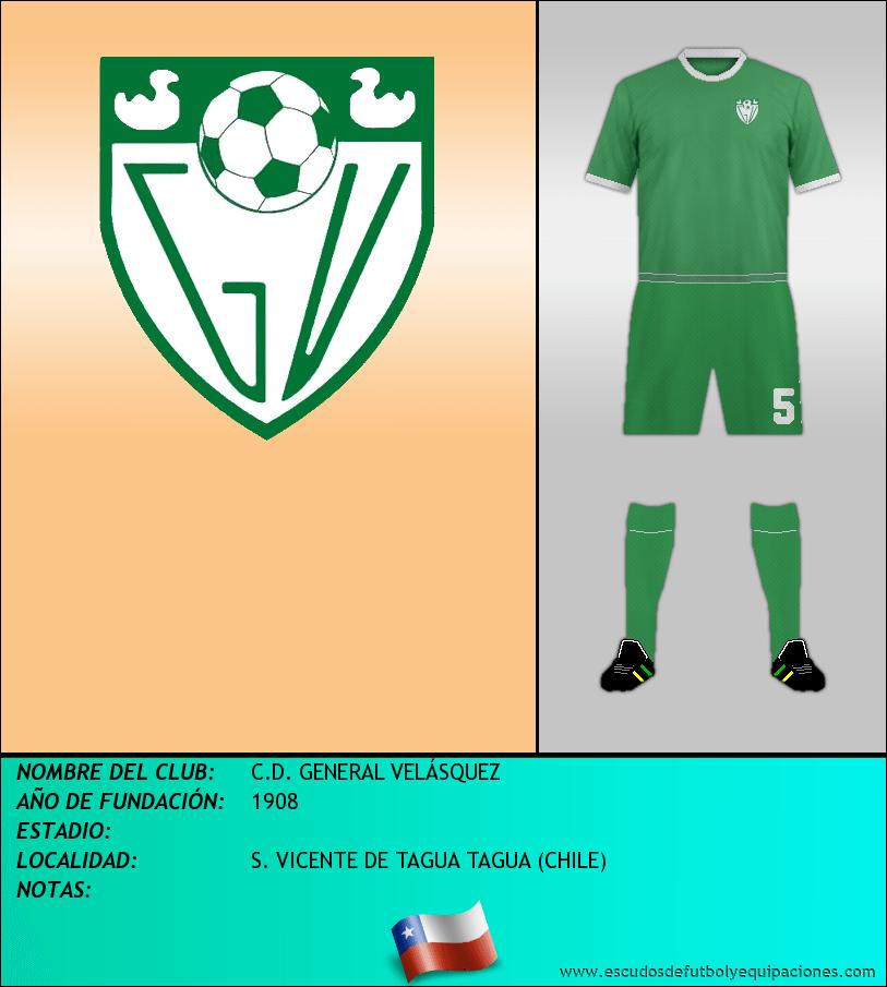 Escudo de C.D. GENERAL VELÁSQUEZ