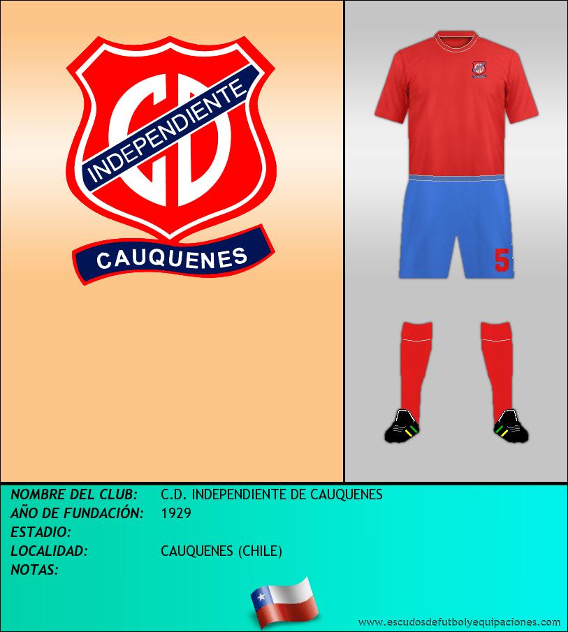 Escudo de C.D. INDEPENDIENTE DE CAUQUENES