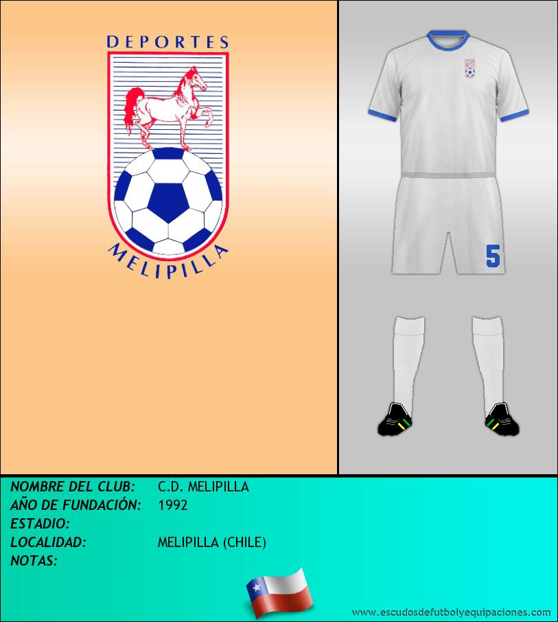 Escudo de C.D. MELIPILLA