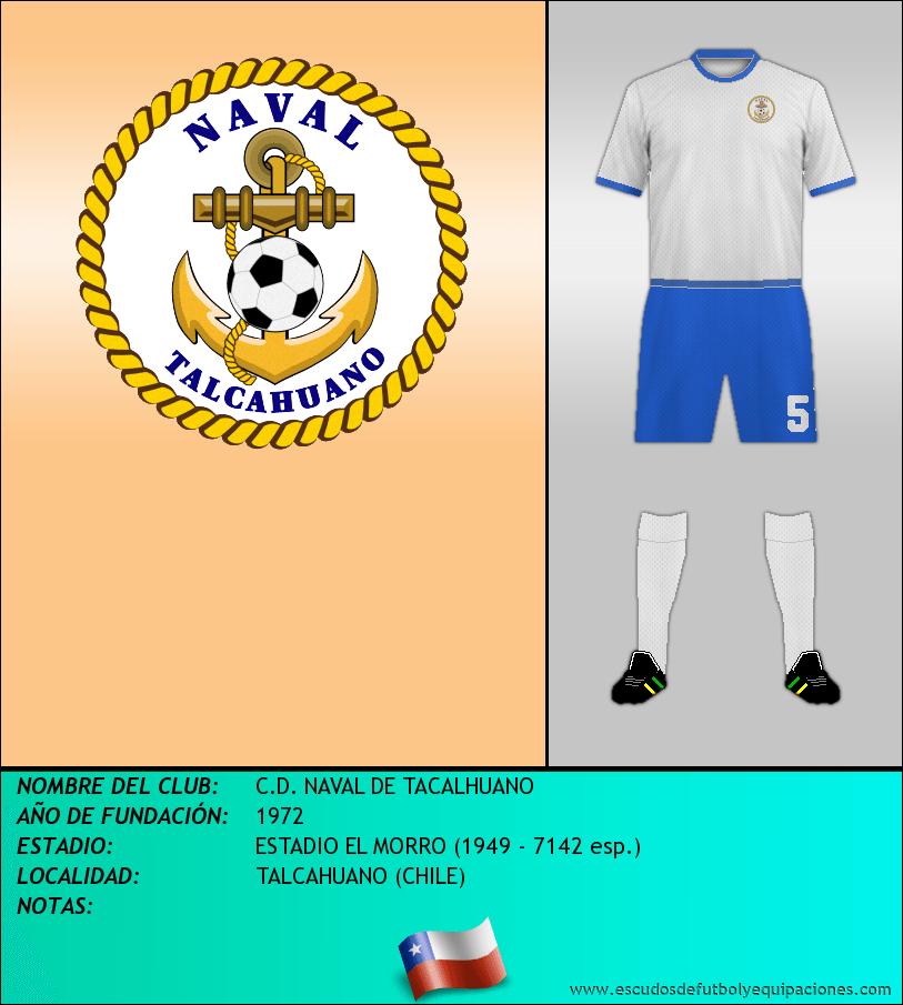 Escudo de C.D. NAVAL DE TACALHUANO