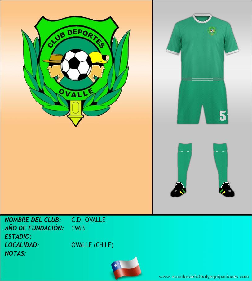 Escudo de C.D. OVALLE