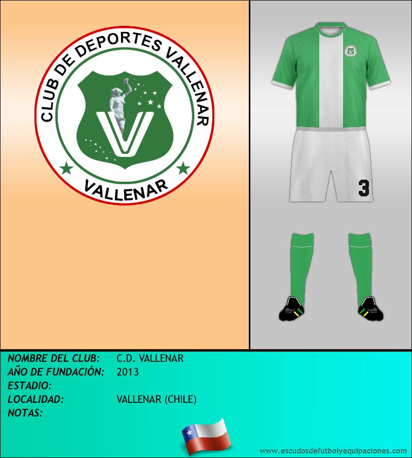 Escudo de C.D. VALLENAR