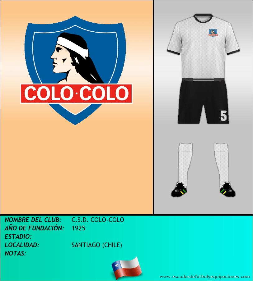 Escudo de C.S.D. COLO-COLO