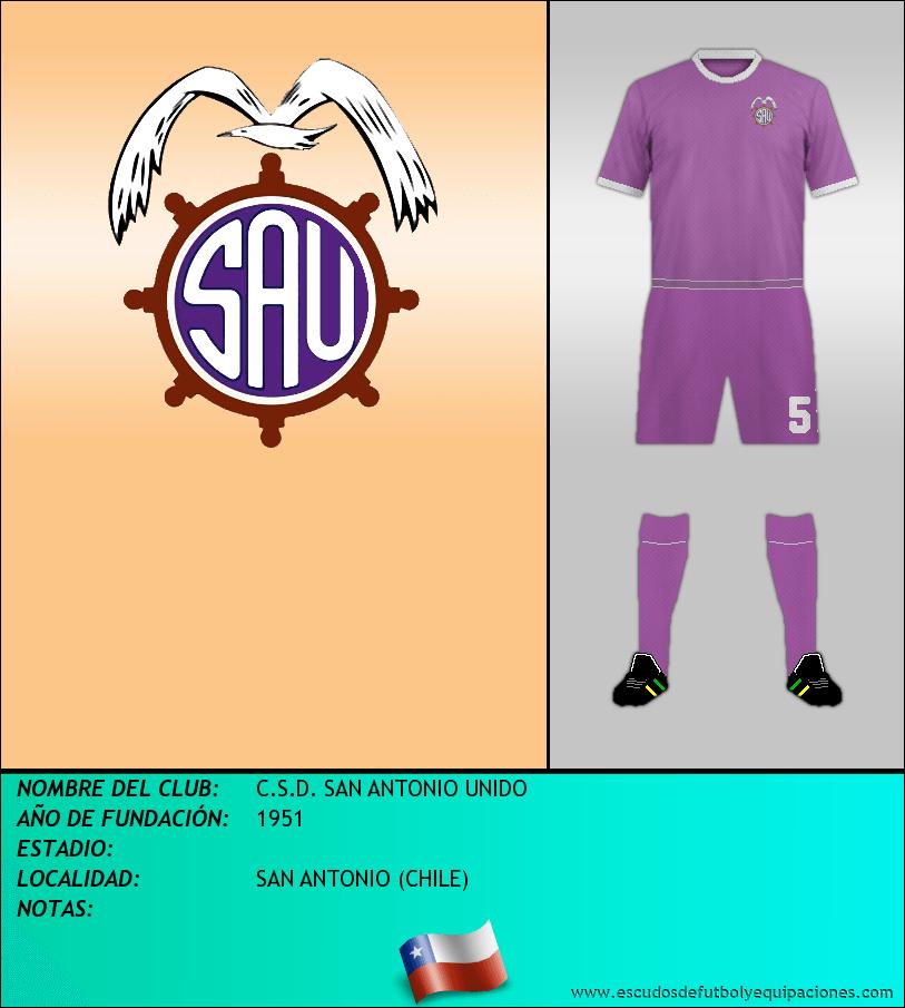 Escudo de C.S.D. SAN ANTONIO UNIDO