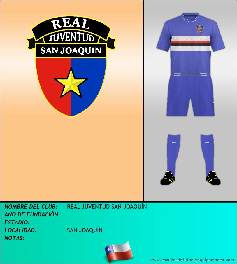 Escudo de REAL JUVENTUD SAN JOAQUÍN