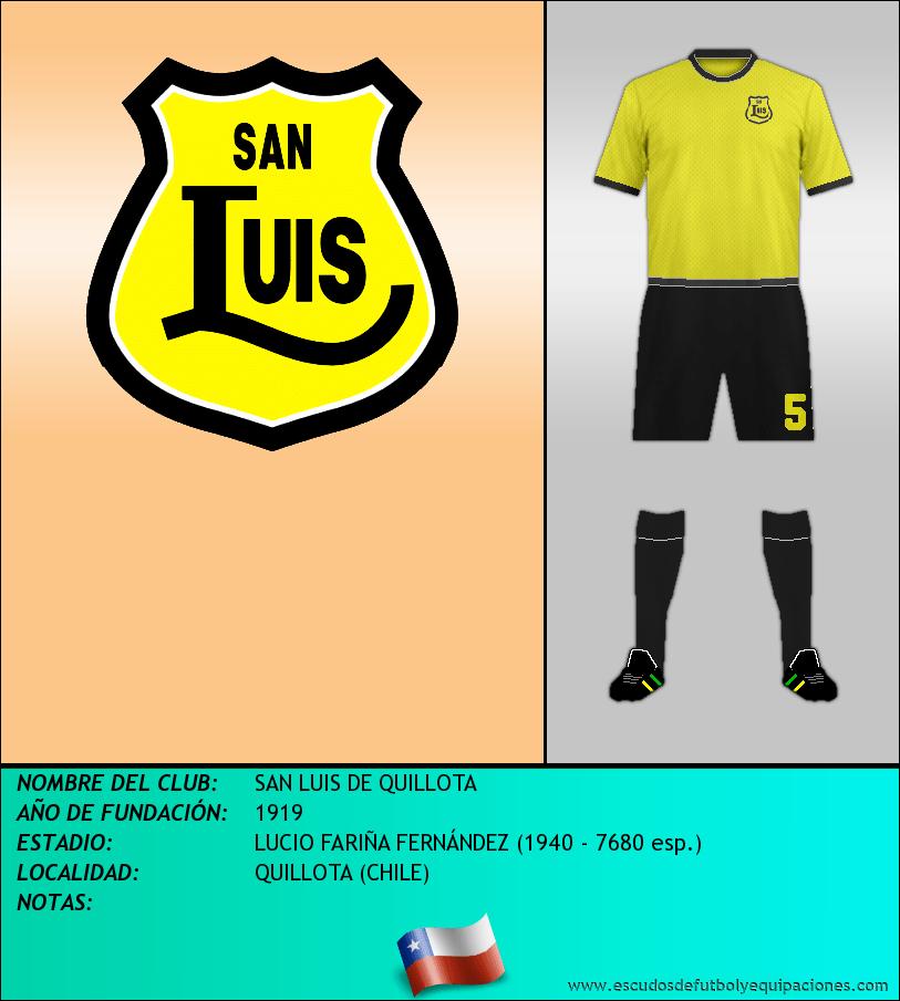 Escudo de SAN LUIS DE QUILLOTA