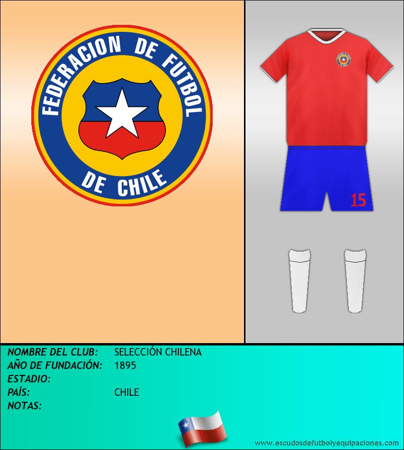 Escudo de SELECCIÓN CHILENA