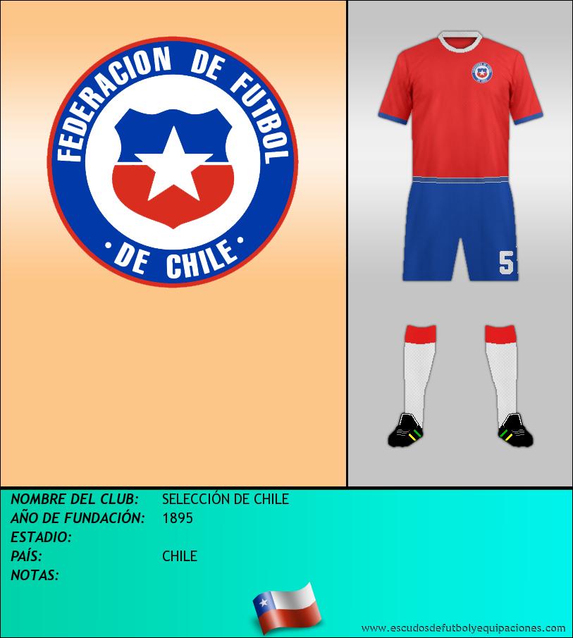 Escudo de SELECCIÓN DE CHILE