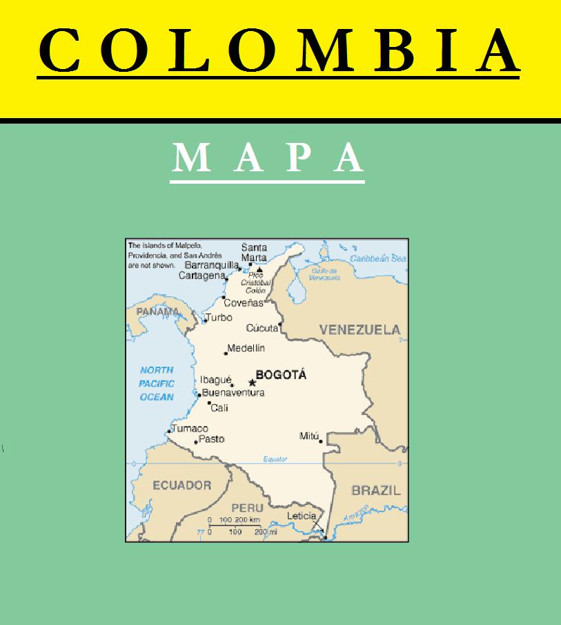 Escudo de MAPA DE COLOMBIA