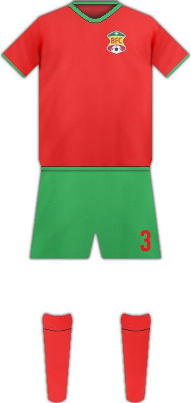 Equipación BABRRANQUILLA FC