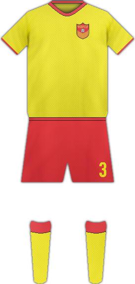 Equipación BOGOTÁ FC