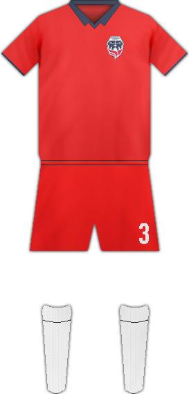 Equipación FORTALEZA C.E.I.F. FC