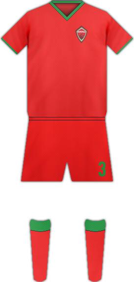 Equipación PATRIOTAS FC
