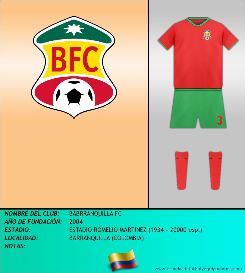 Escudo de BABRRANQUILLA FC