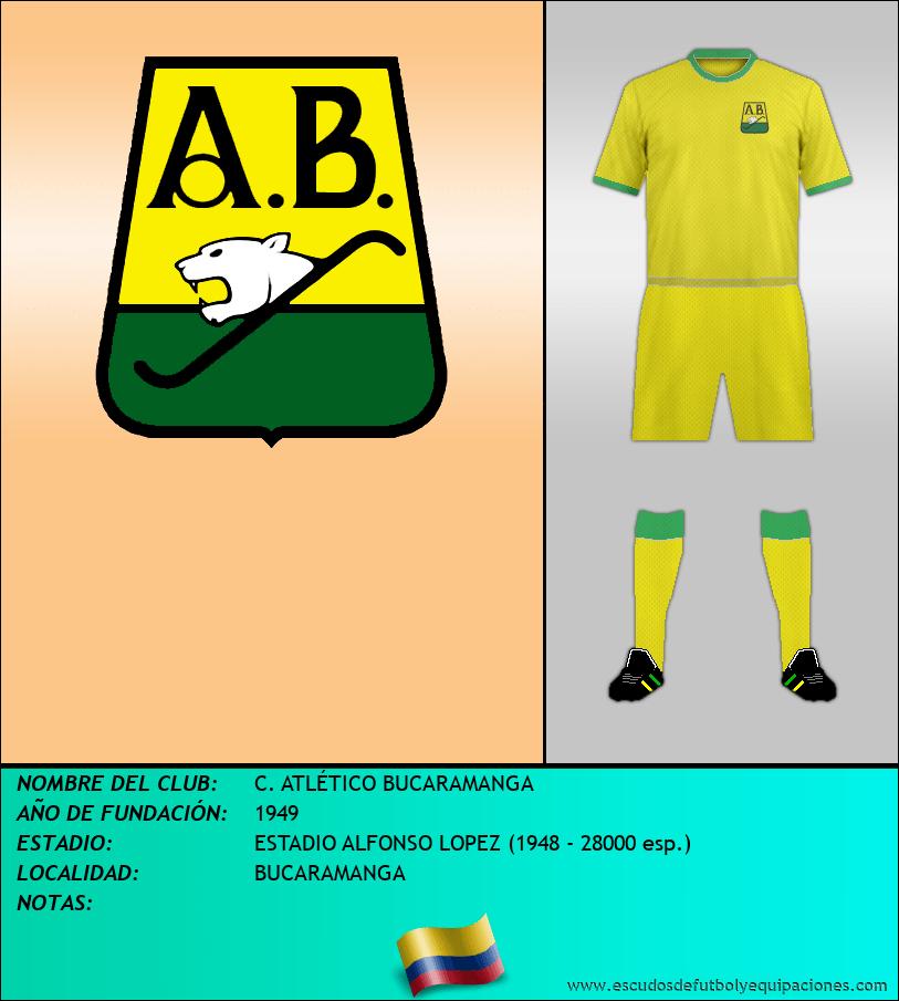 Escudo de C. ATLÉTICO BUCARAMANGA