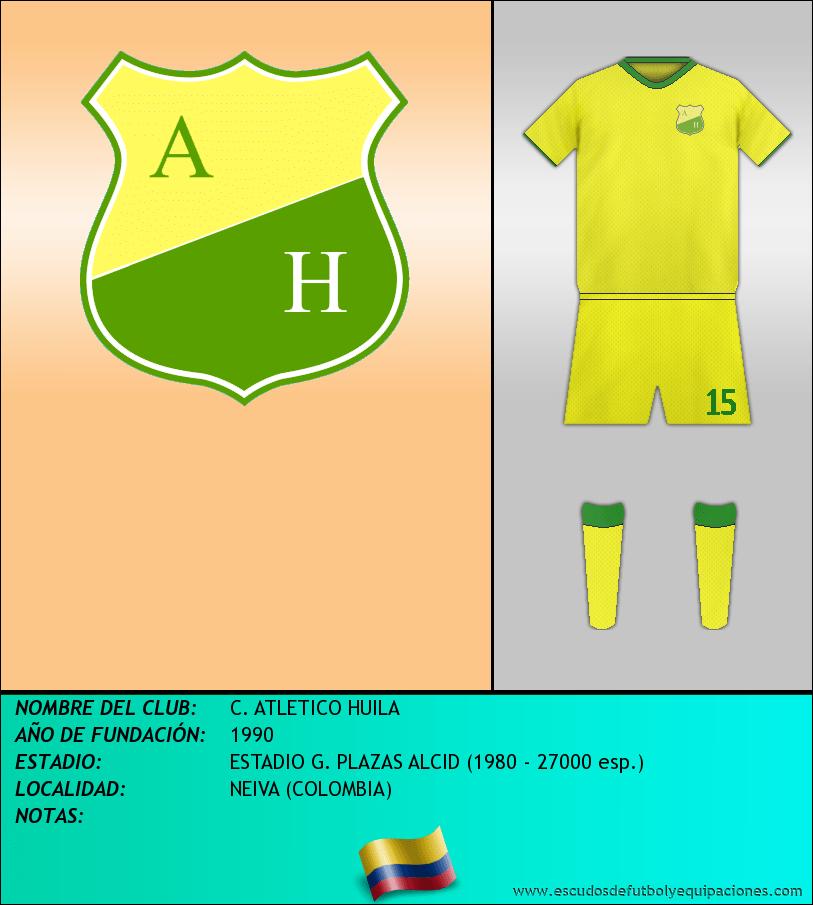Escudo de C. ATLETICO HUILA