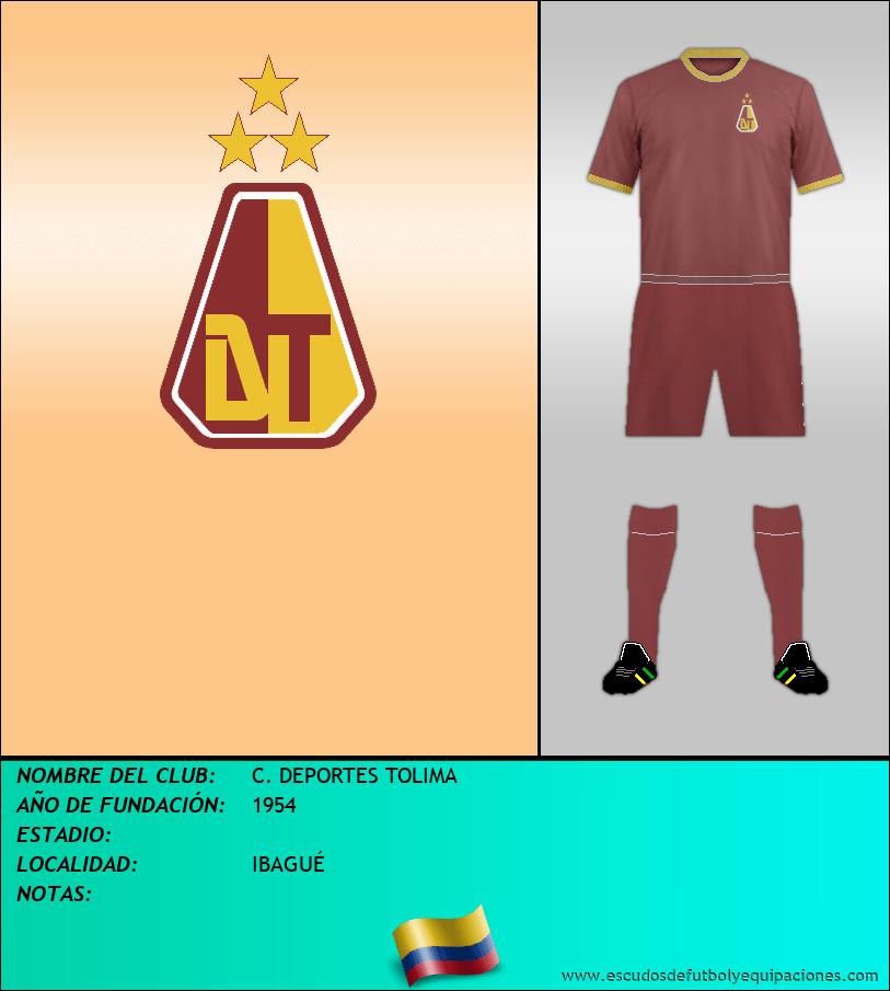 Escudo de C. DEPORTES TOLIMA