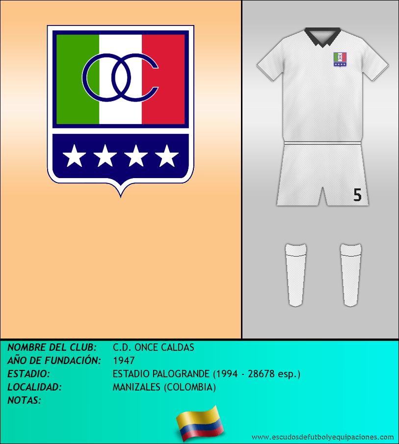 Escudo de C.D. ONCE CALDAS