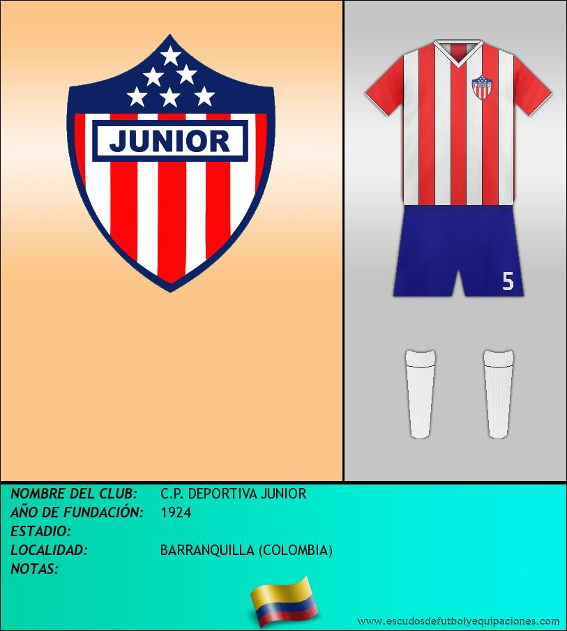 Escudo de C.P. DEPORTIVA JUNIOR