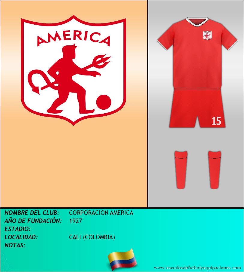 Escudo de CORPORACION AMERICA
