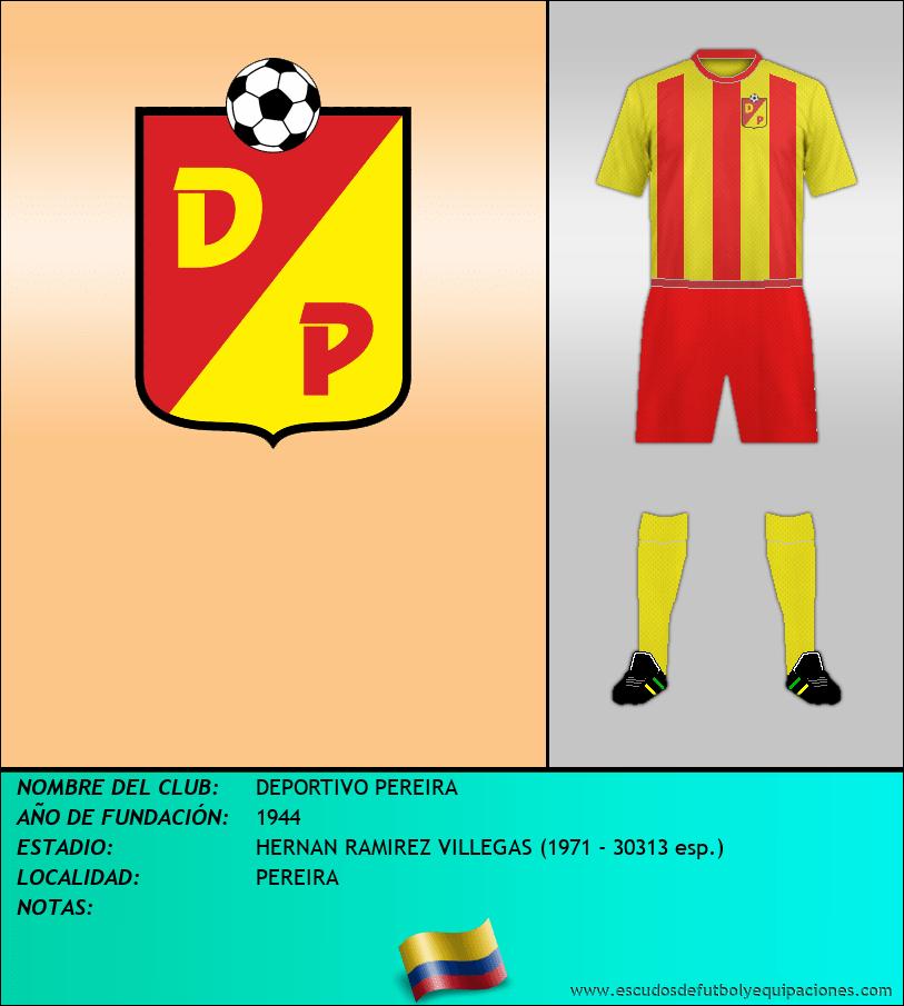 Escudo de DEPORTIVO PEREIRA