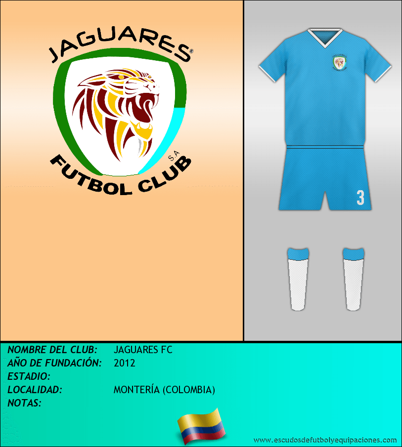 Escudo de JAGUARES FC
