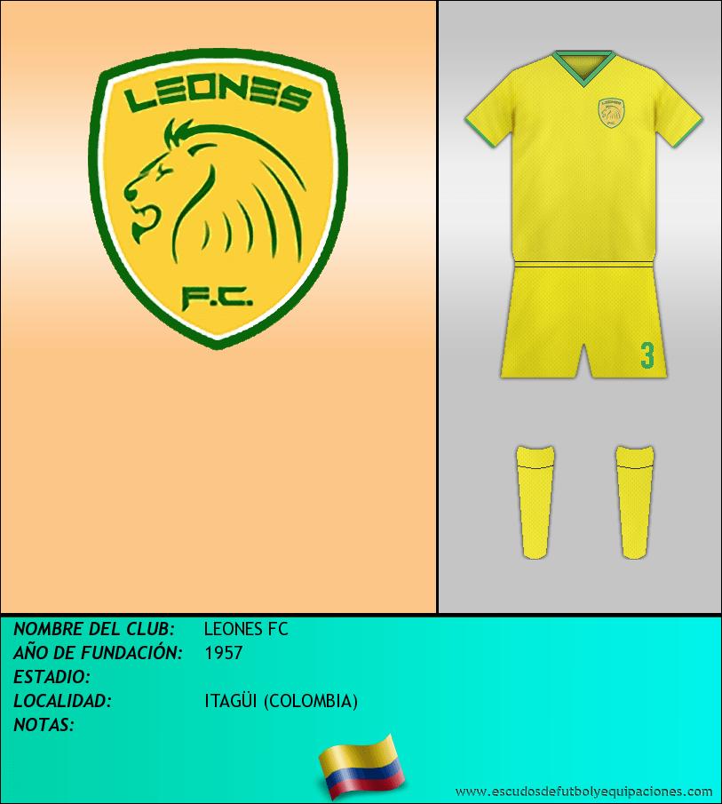 Escudo de LEONES FC