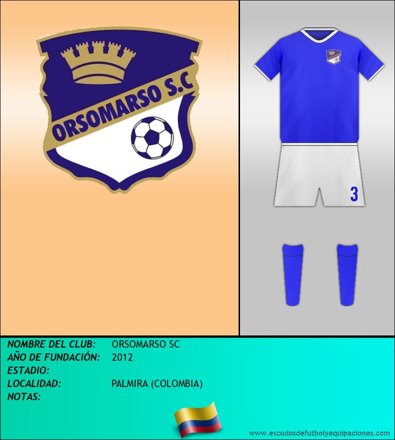 Escudo de ORSOMARSO SC