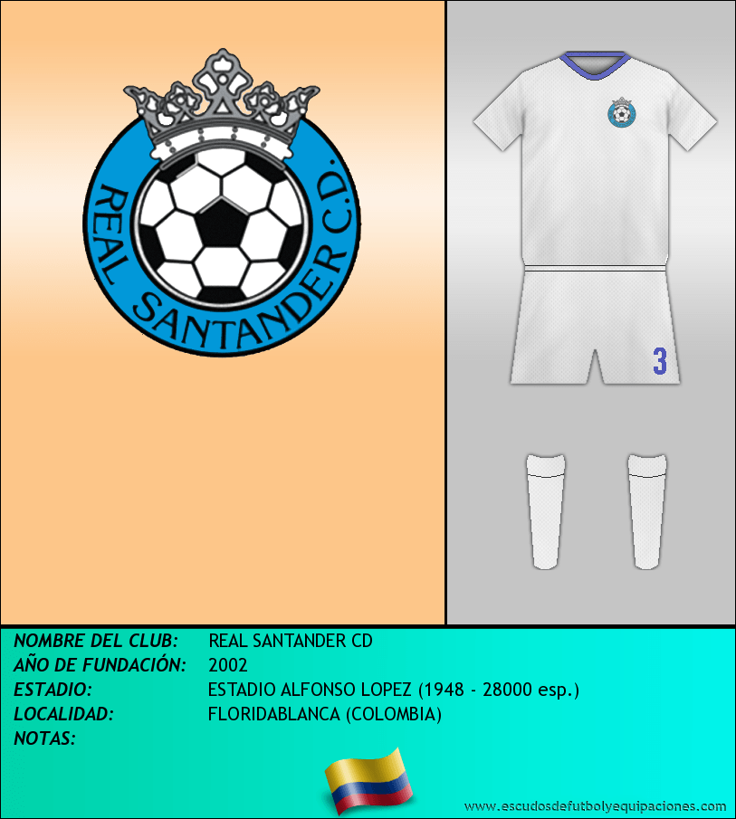 Escudo de REAL SANTANDER CD