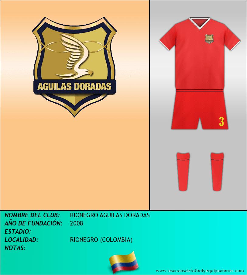 Escudo de RIONEGRO AGUILAS DORADAS