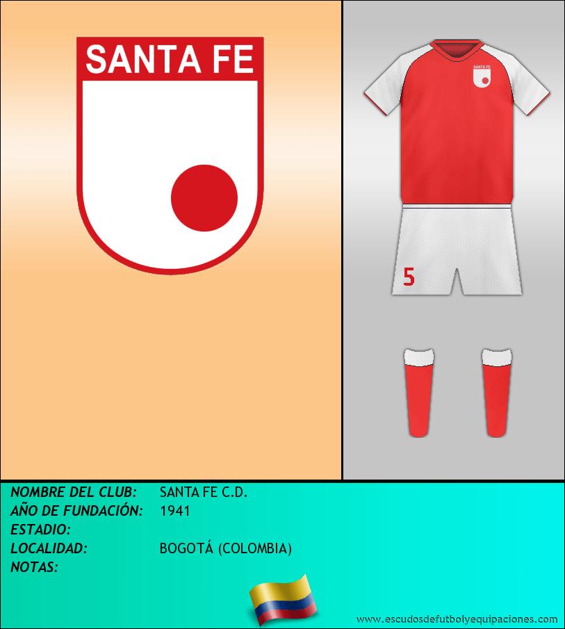 Escudo de SANTA FE C.D.
