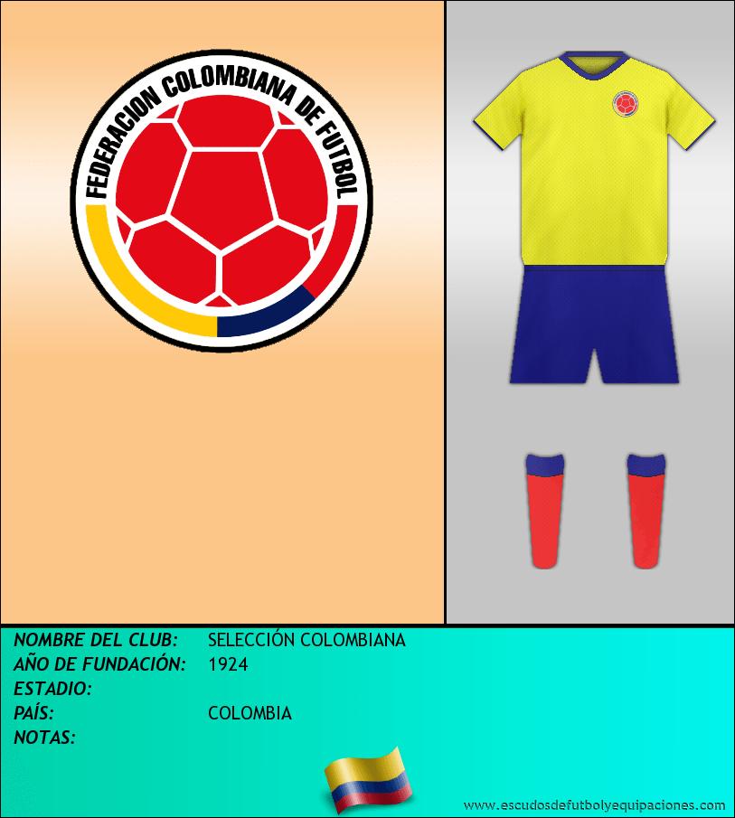 Escudo de SELECCIÓN COLOMBIANA