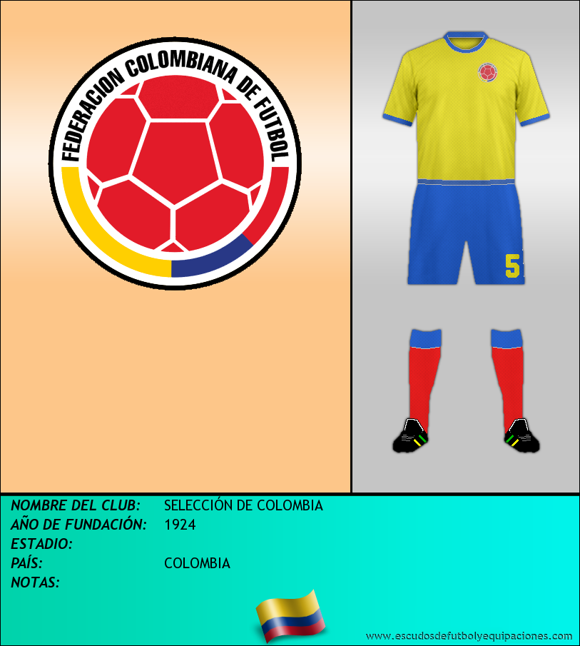 Escudo de SELECCIÓN DE COLOMBIA
