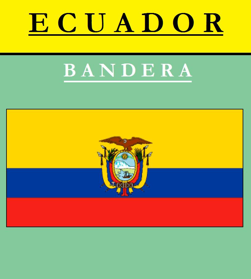 Escudo de BANDERA DE ECUADOR