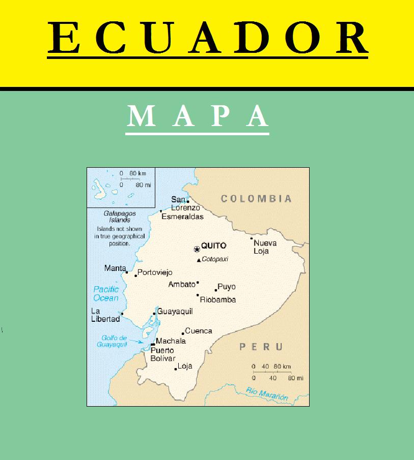 Escudo de MAPA DE ECUADOR