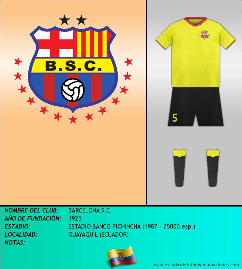 Escudo de BARCELONA S.C.