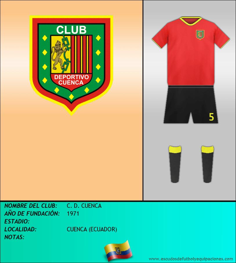 Escudo de C. D. CUENCA