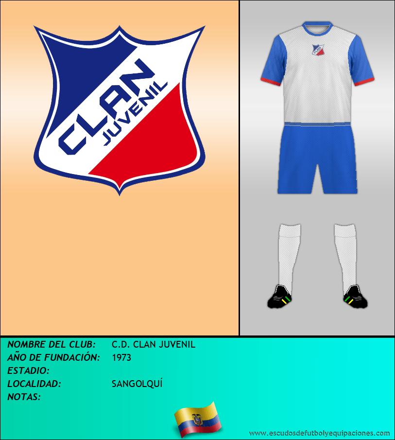 Escudo de C.D. CLAN JUVENIL