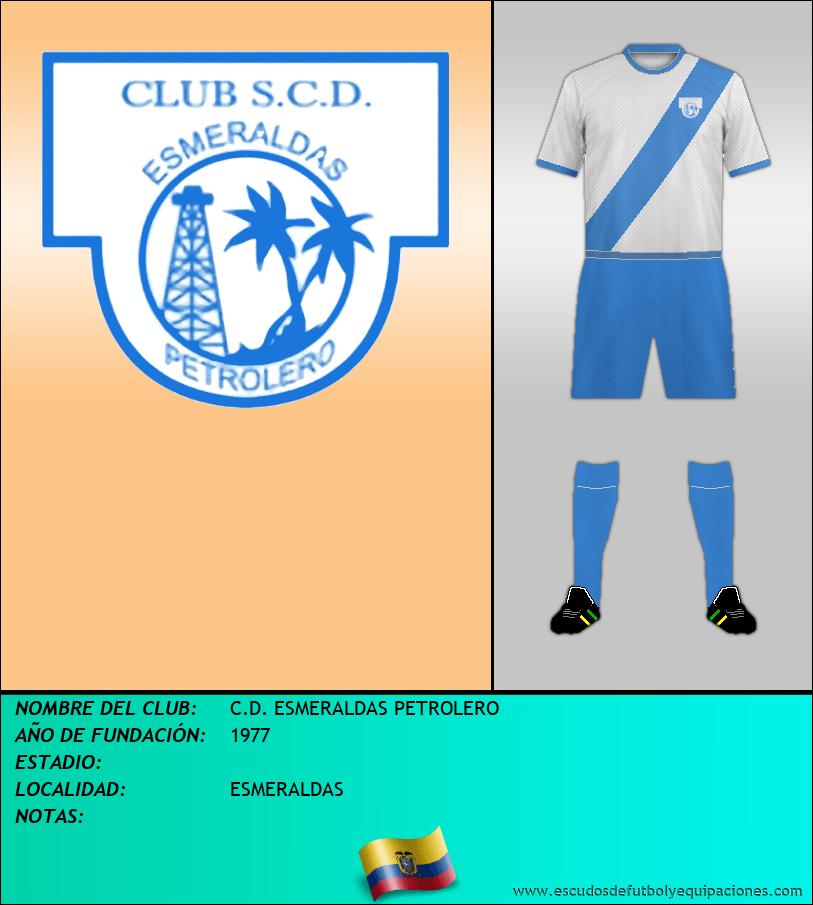 Escudo de C.D. ESMERALDAS PETROLERO