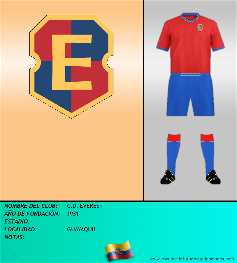 Escudo de C.D. EVEREST