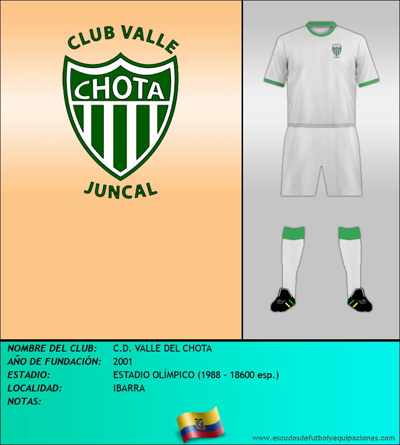 Escudo de C.D. VALLE DEL CHOTA