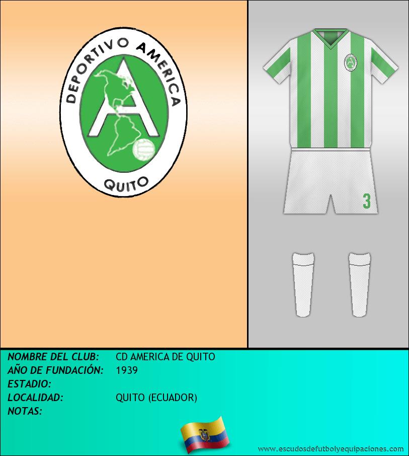 Escudo de CD AMERICA DE QUITO