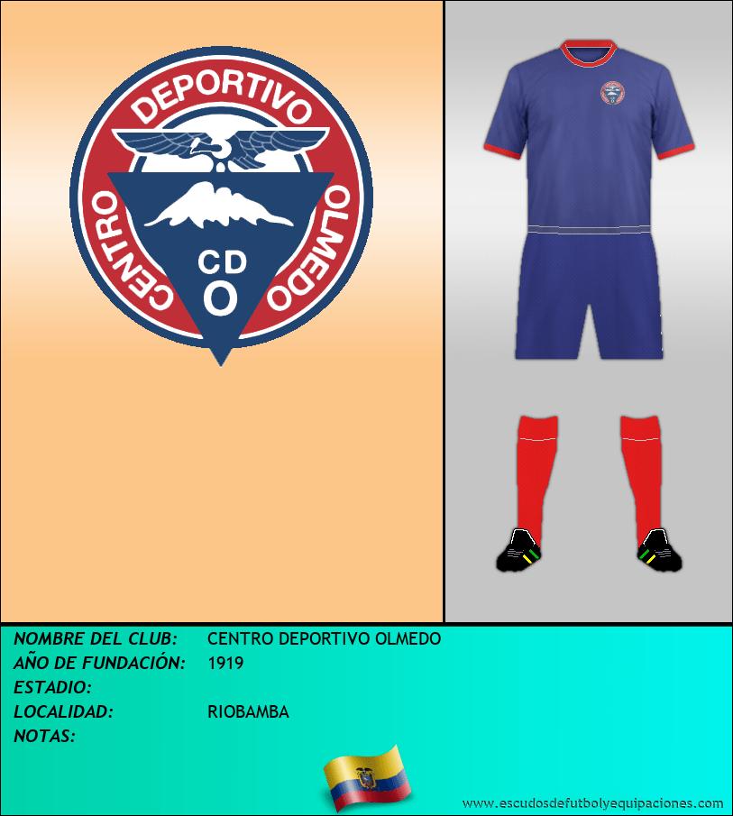 Escudo de CENTRO DEPORTIVO OLMEDO